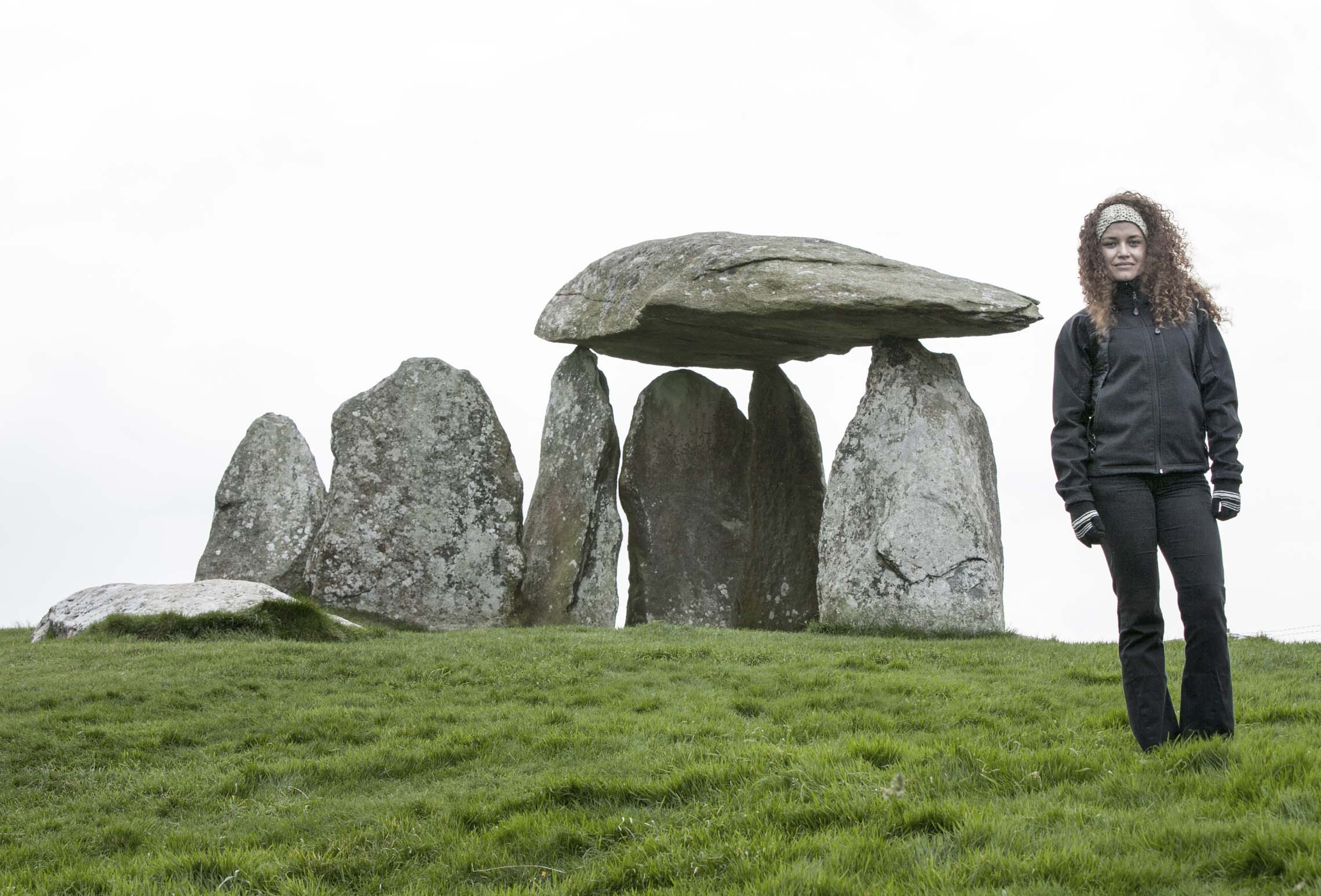 Welsh Neolithic Dolmen (Stone Burial Chamber)