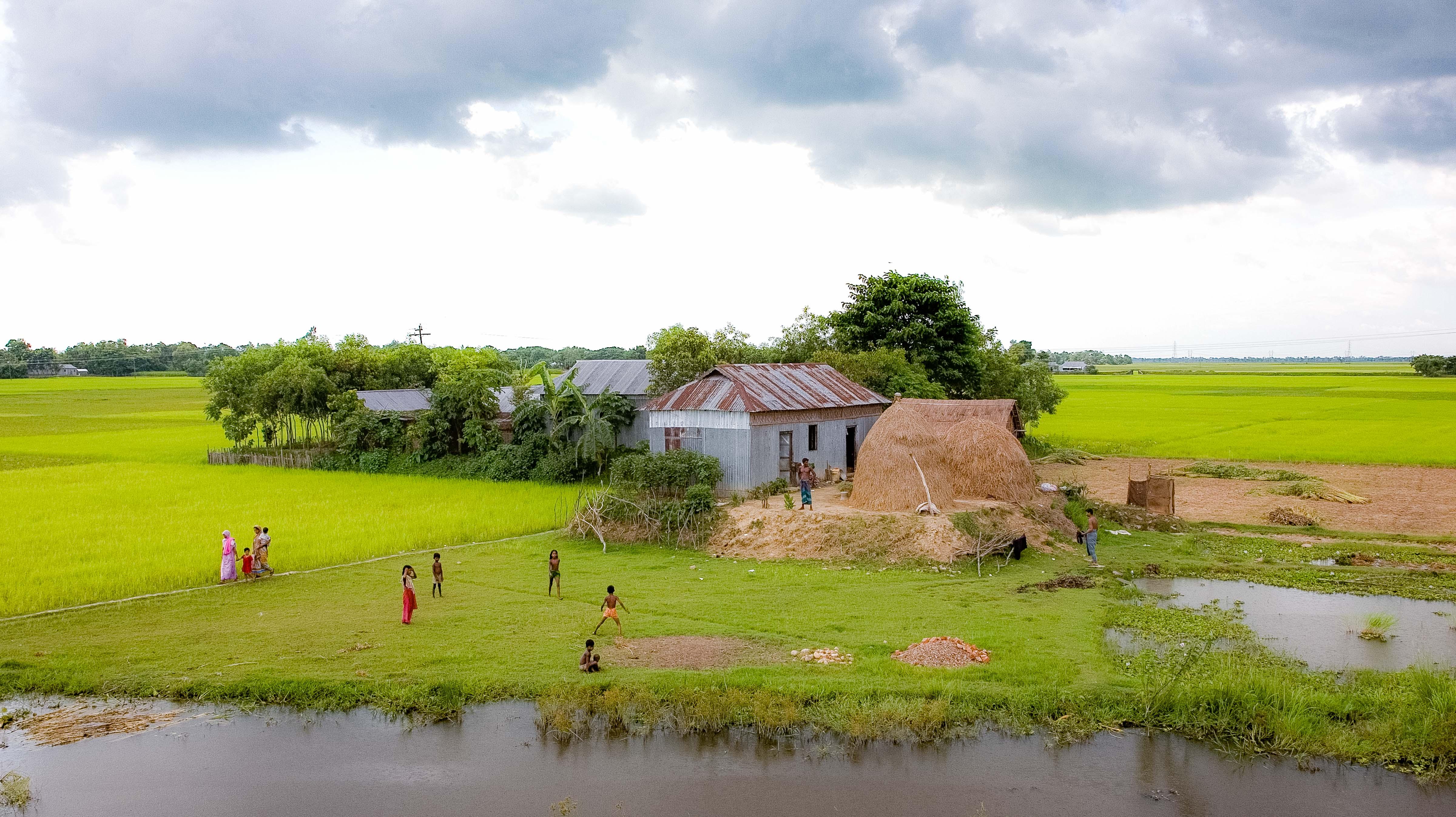 Bangladesh, Habiganj Prov, Farm House, 2009, IMG 8438
