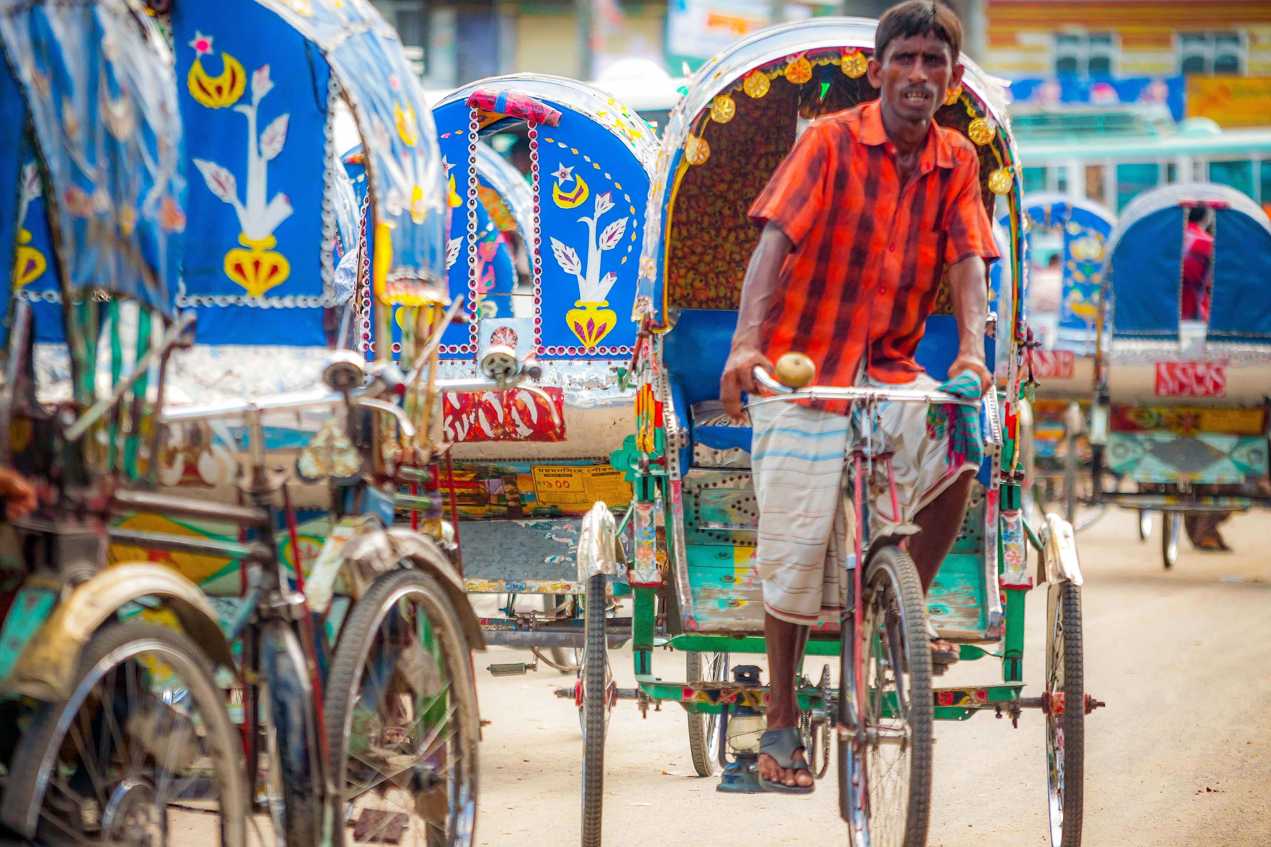 Bangladesh, Netrakona Prov, Bicycle Taxi, 2009, IMG 8799