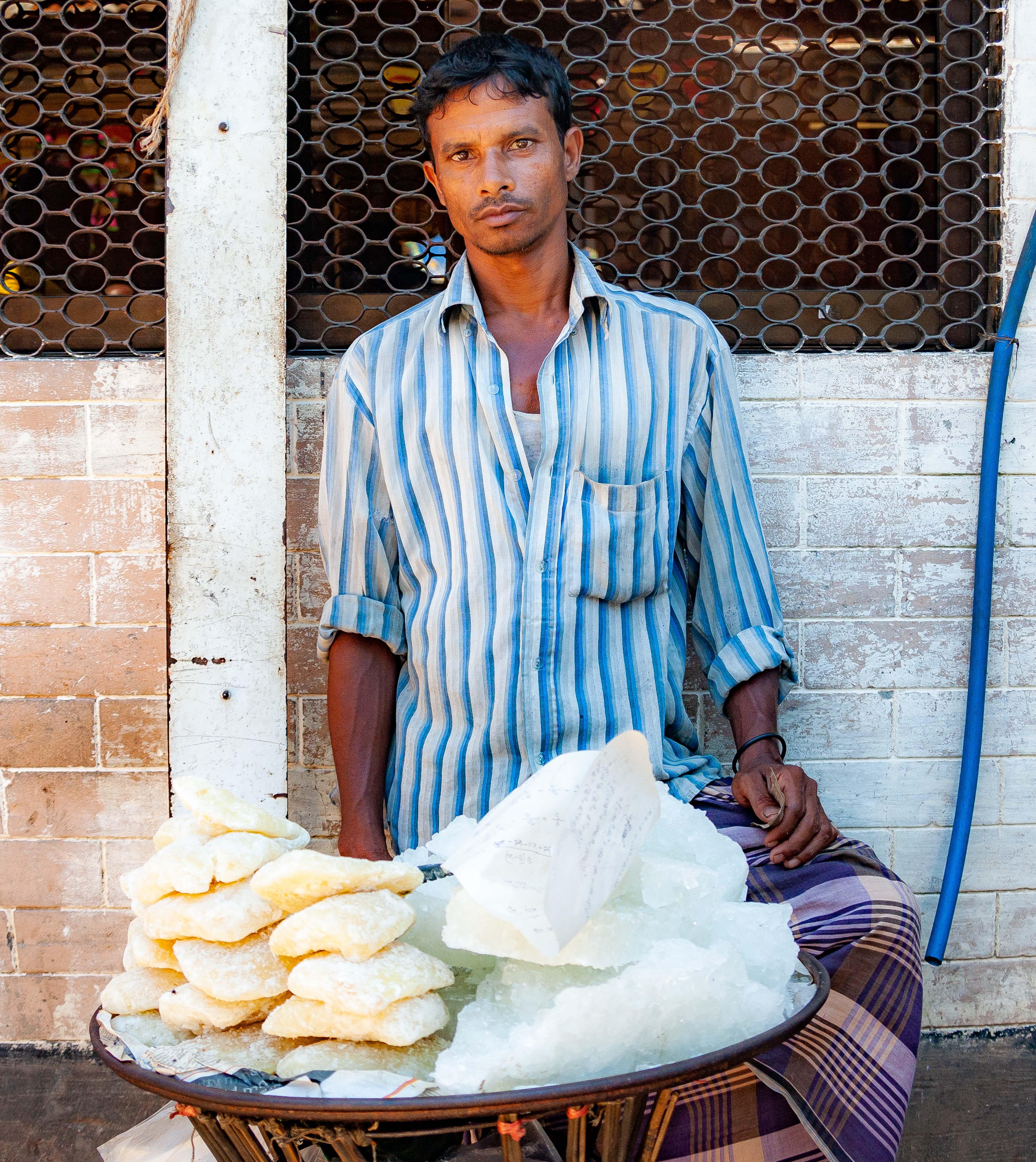 Bangladesh, Netrakona Prov, Food Vendor, 2009, IMG 8771