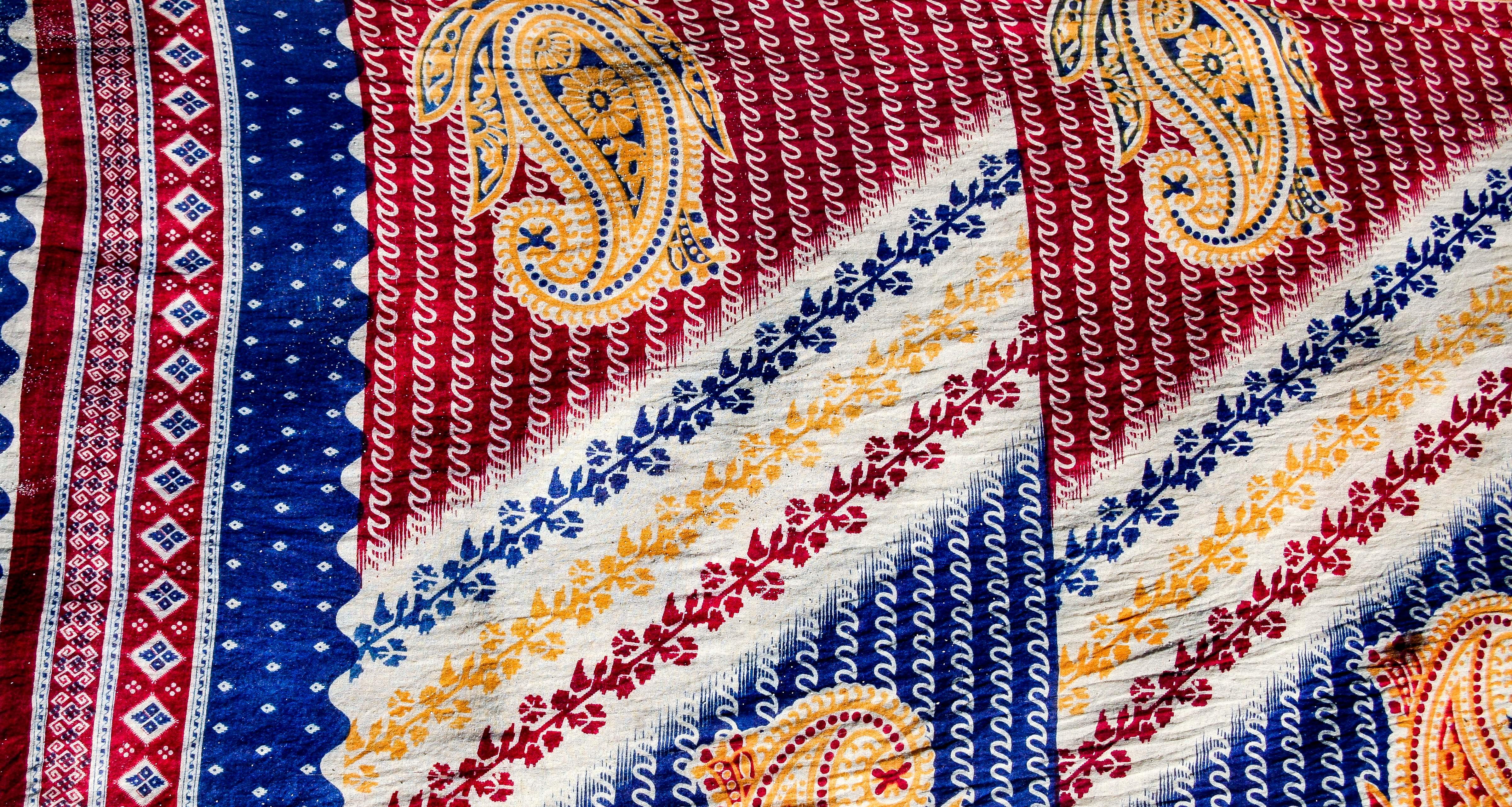 Bangladesh, Sylhet Prov, Fabric Detail, 2009, IMG 8231