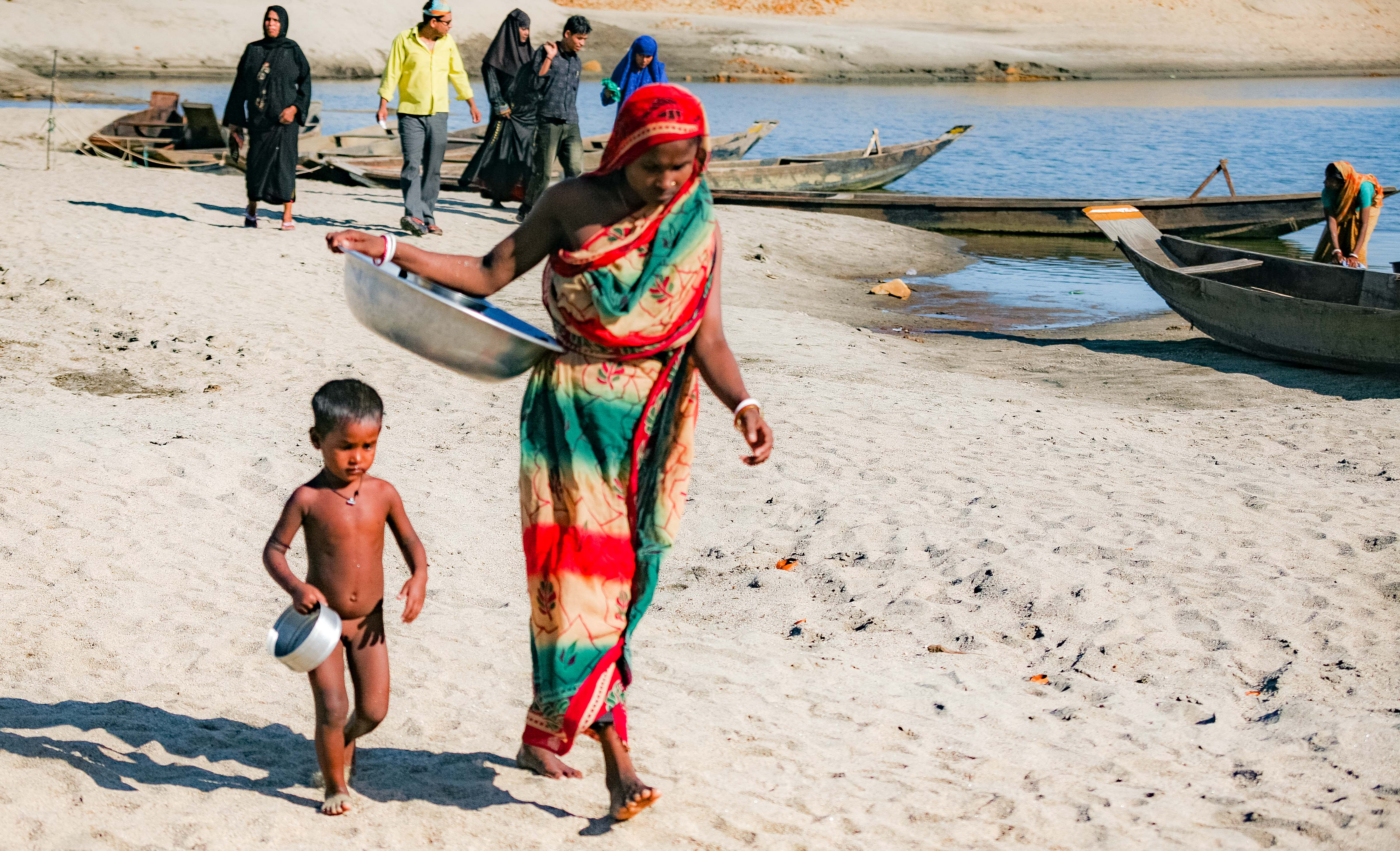 Bangladesh, Sylhet Prov, Woman With Youth, 2009, IMG 8227