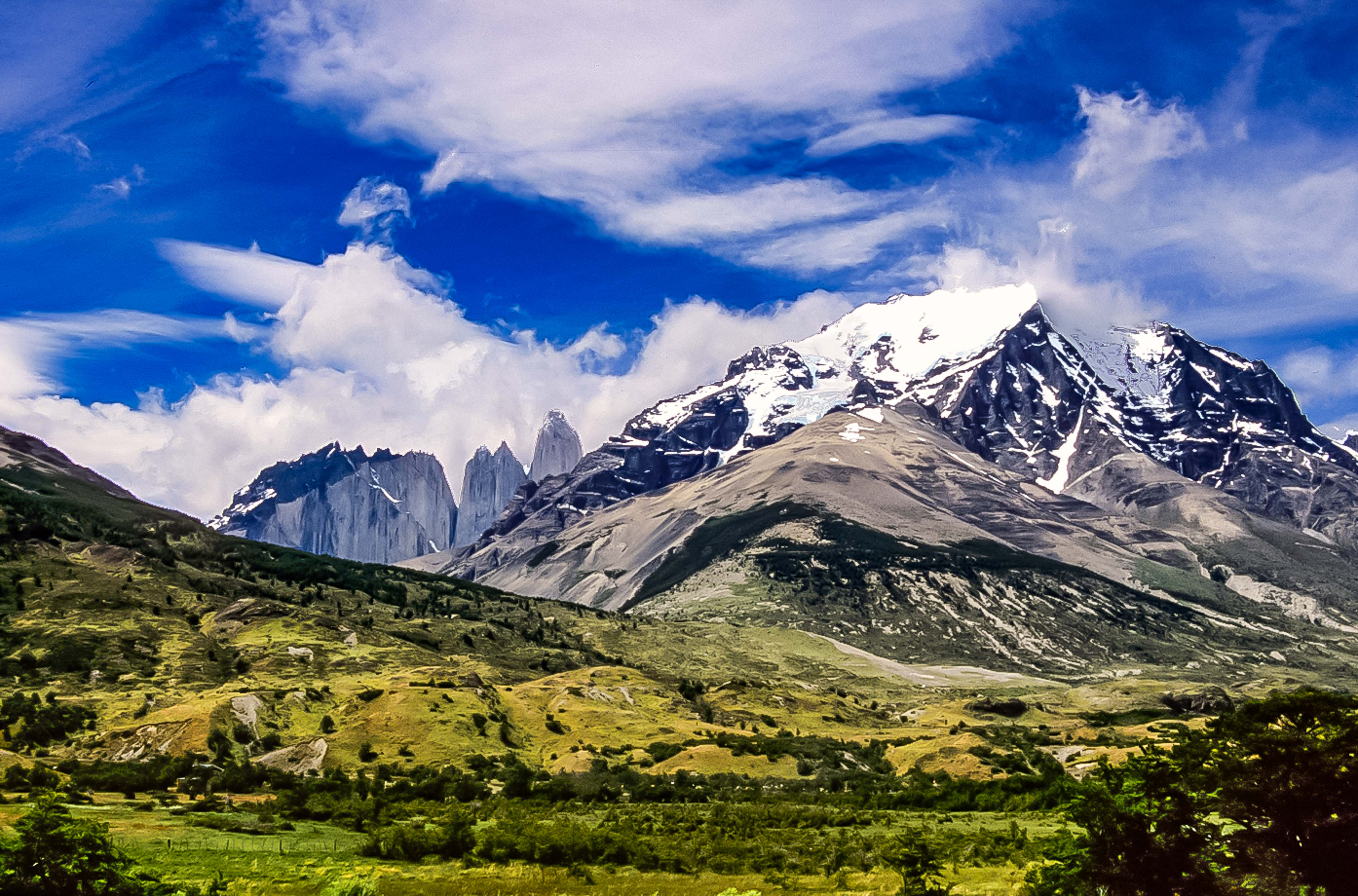 Chile, Torres Del Paine, Landscape, 2004