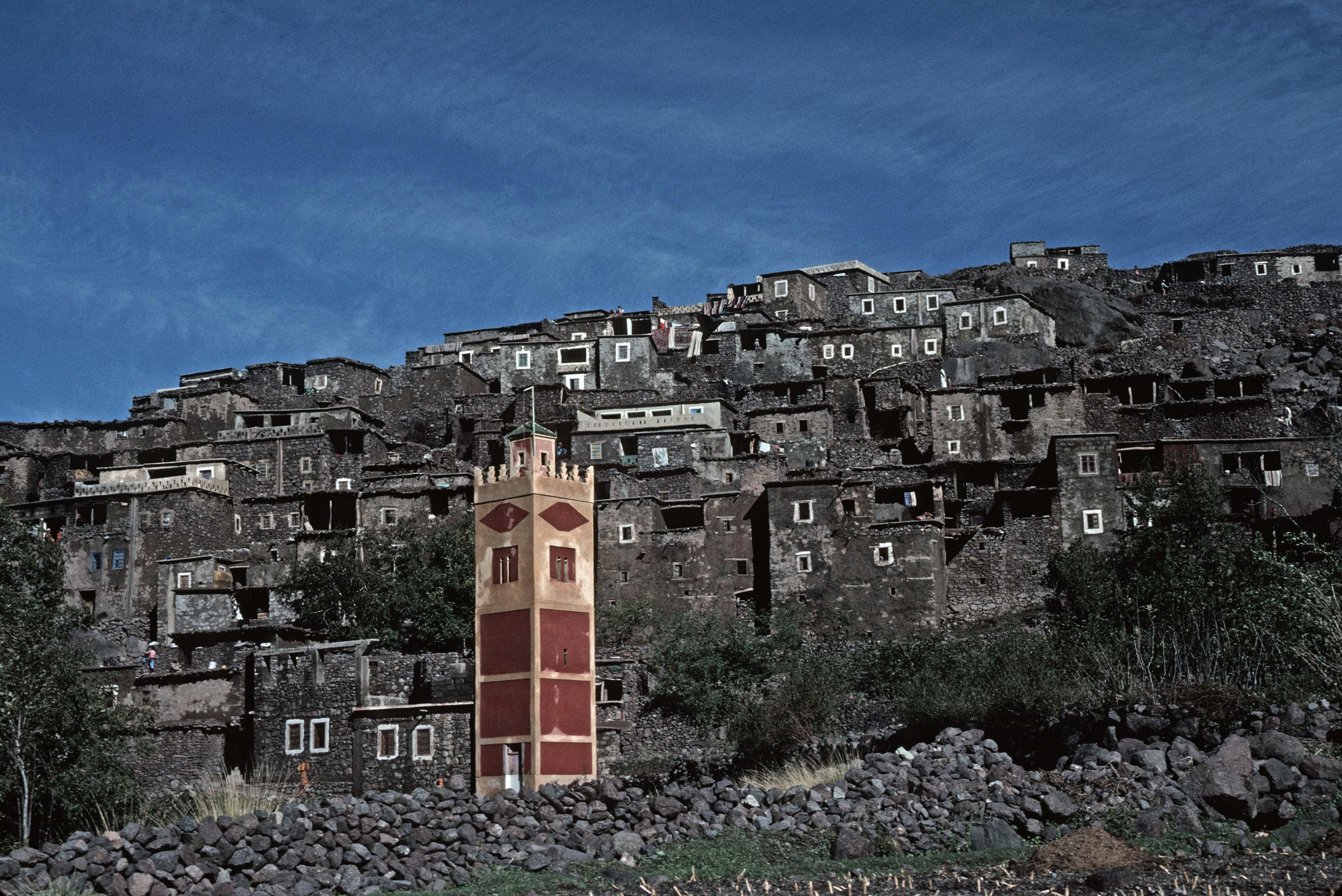 Morocco, Village Mosque in Atlas, 1988