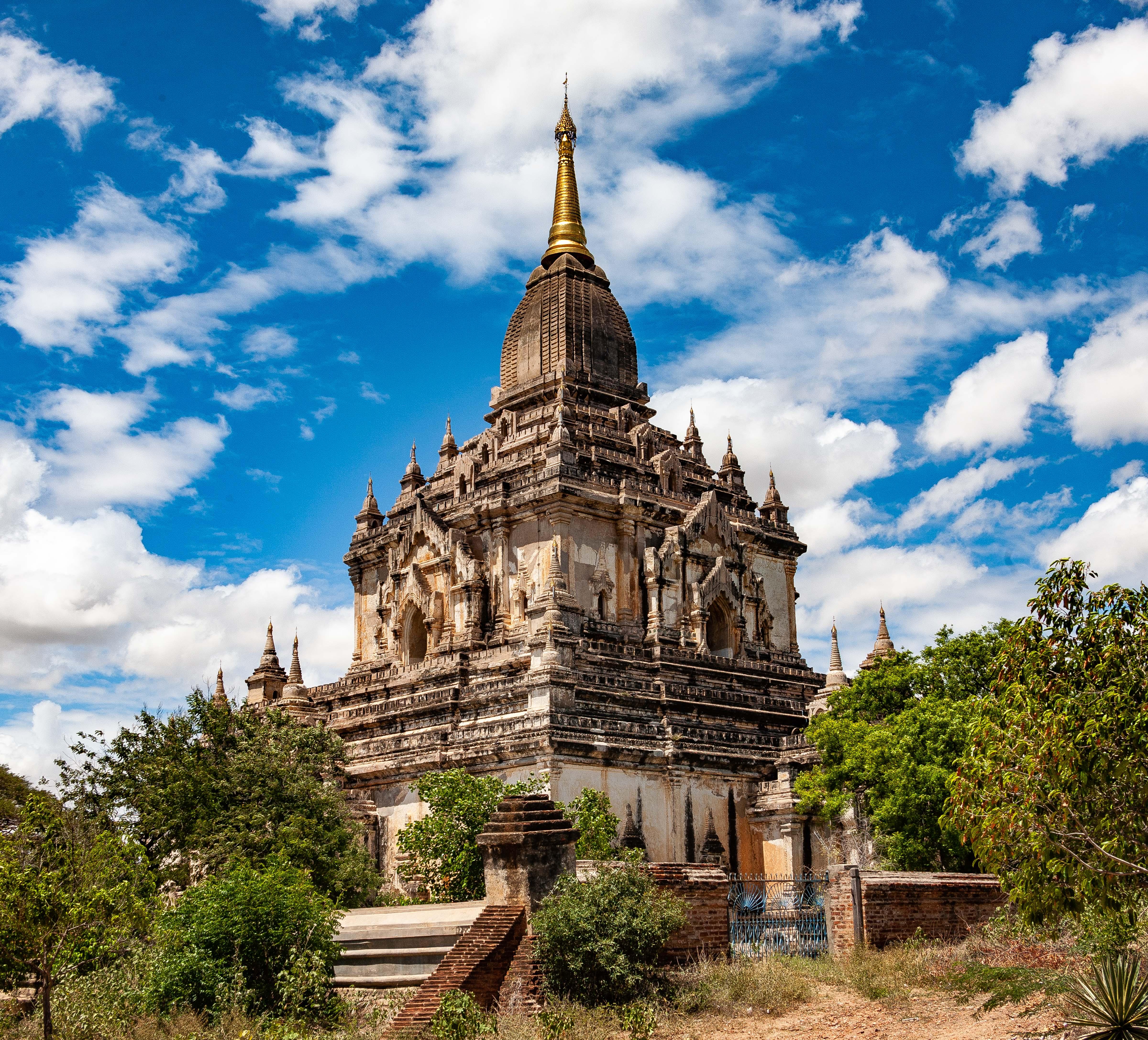 Myanmar, Mandalay Prov, Bagan Temple, 2009, IMG 4946