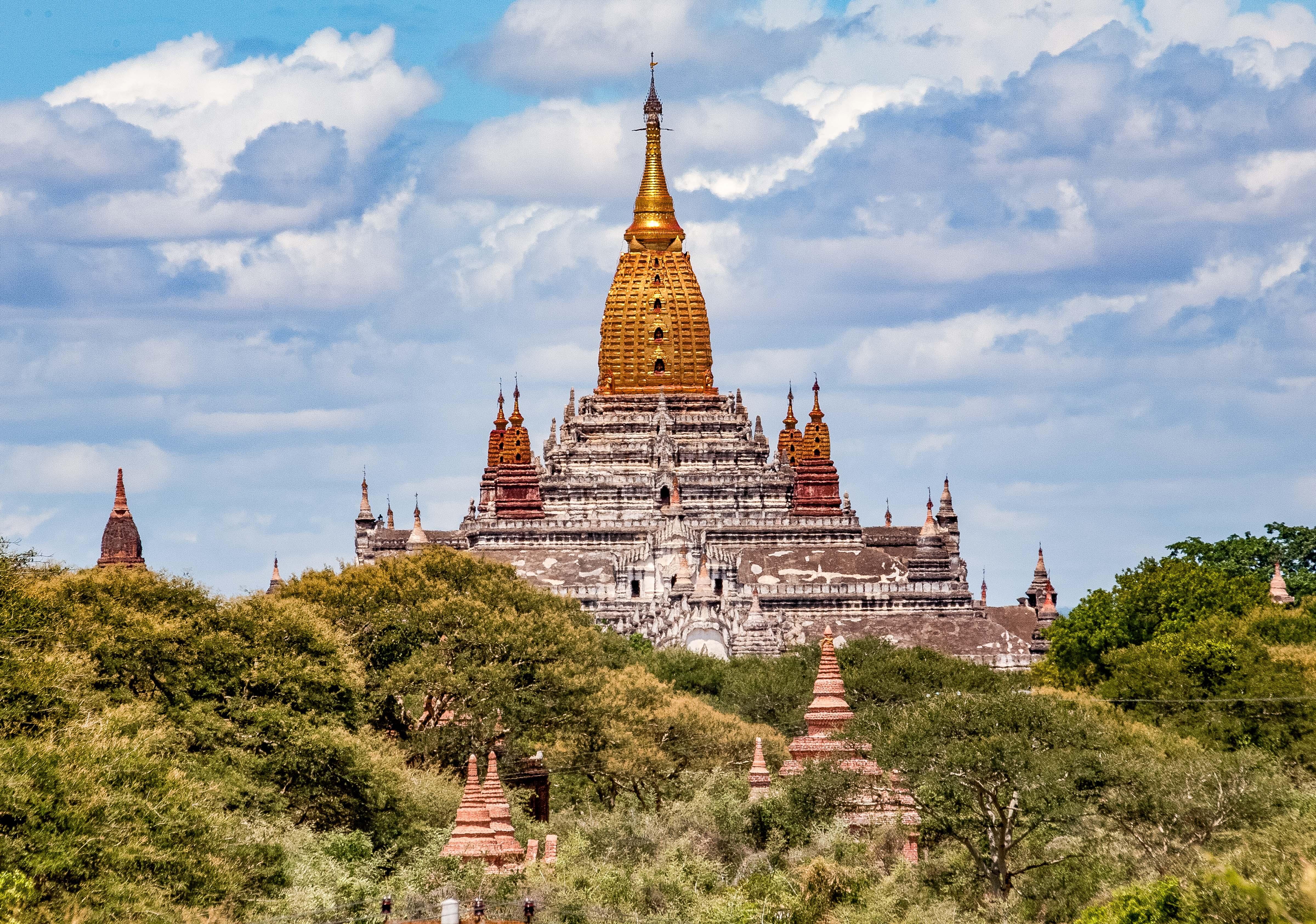 Myanmar, Mandalay Prov, Bagan Temple Detail, 2009, IMG 4955
