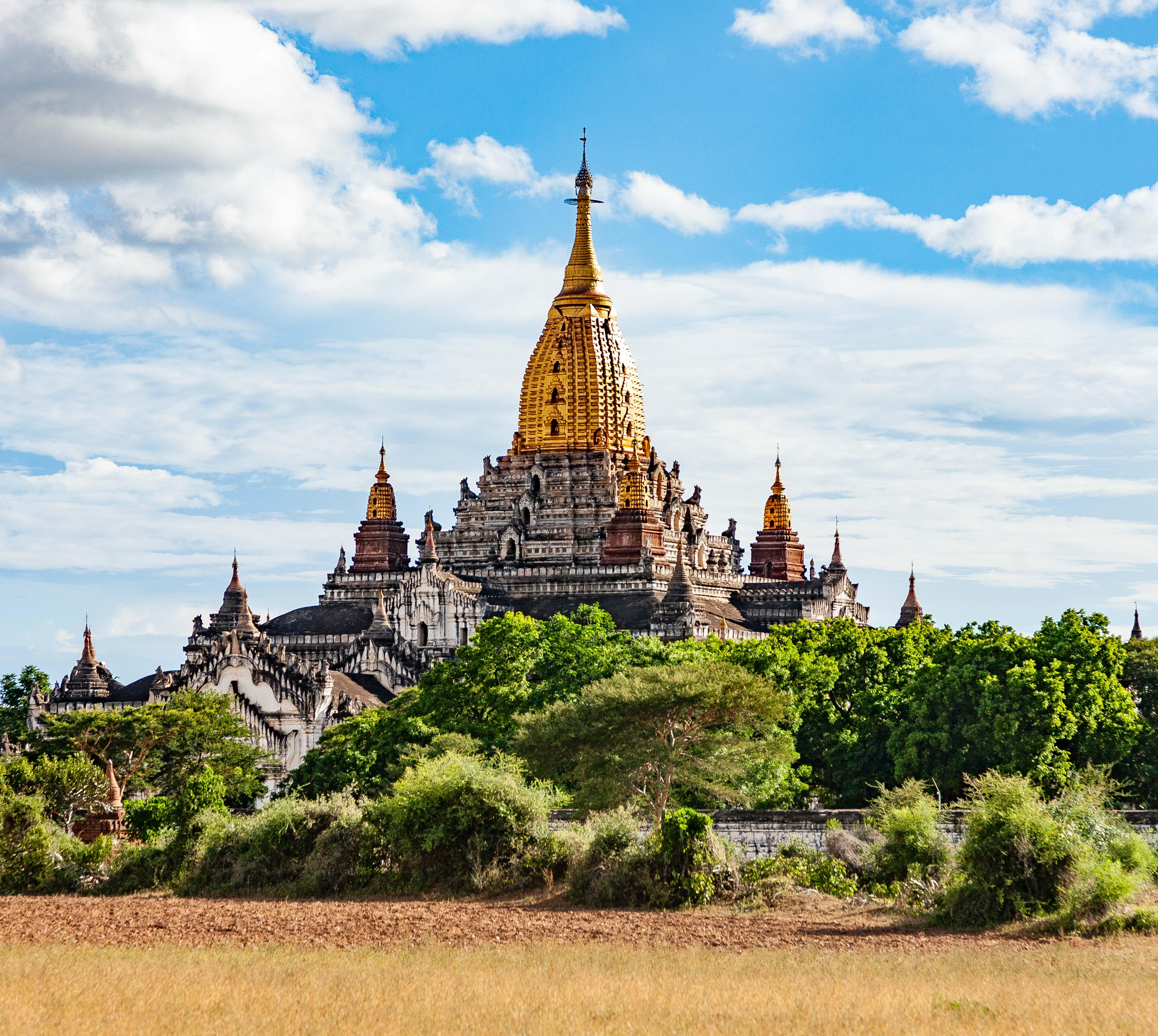 Myanmar, Mandalay Prov, Bagan Temple Detail, 2009, IMG 4987