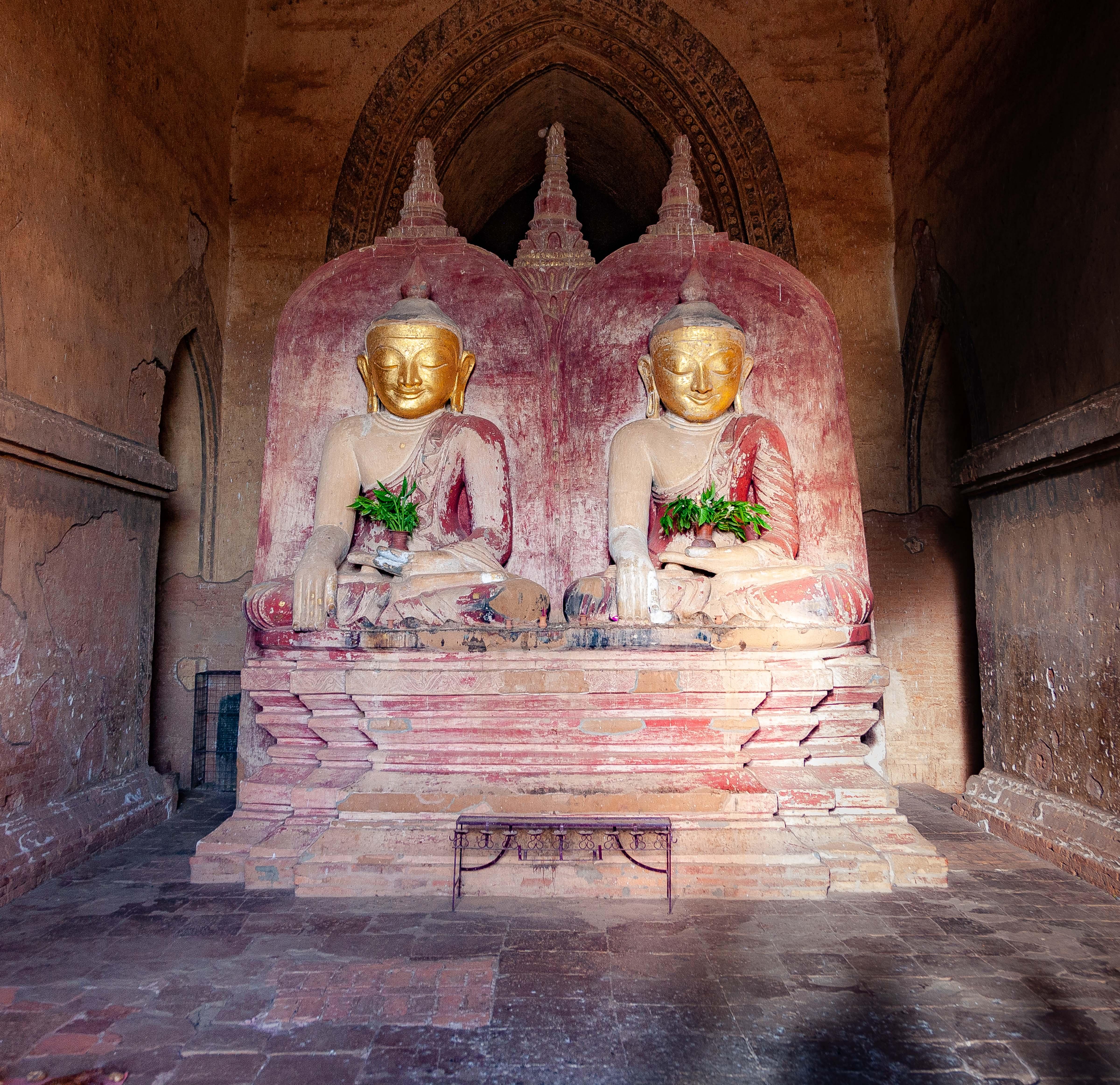 Myanmar, Mandalay Prov, Bagan Temple Detail, 2009, IMG 5020