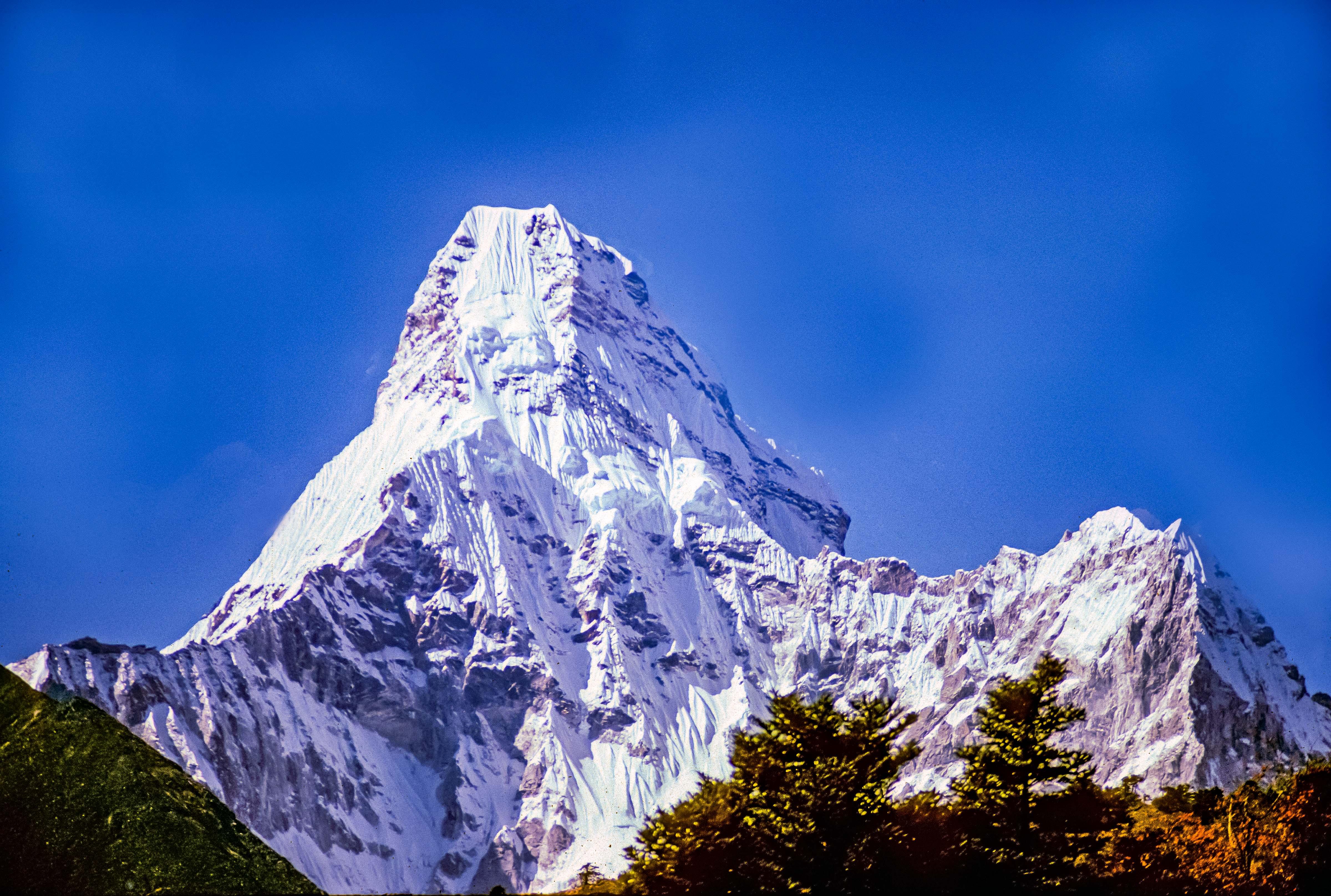 Nepal, Ama Dablam, 1983