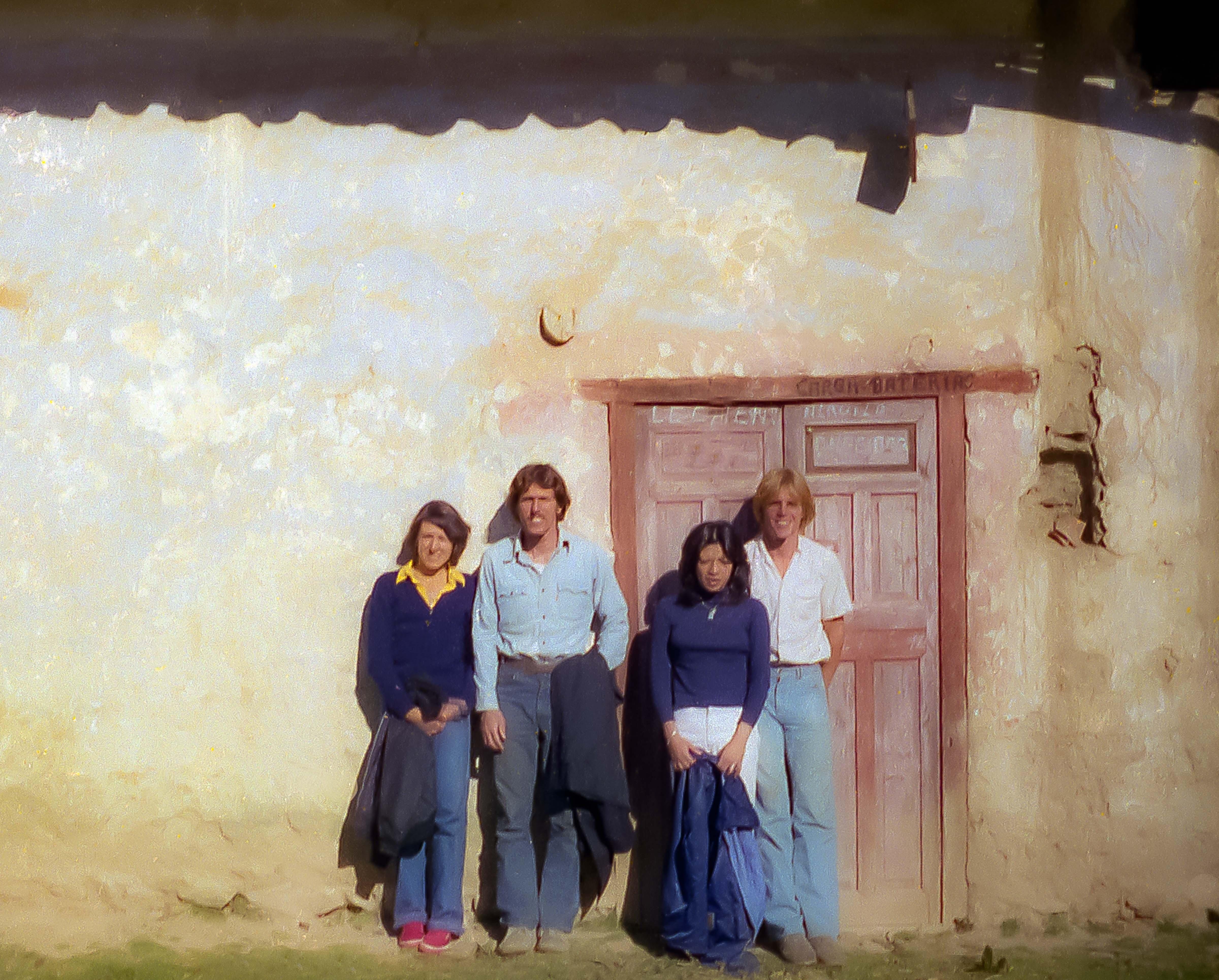 Peru, Lilly, Gary Cappa, Monyo And Jeff Shea, 1979