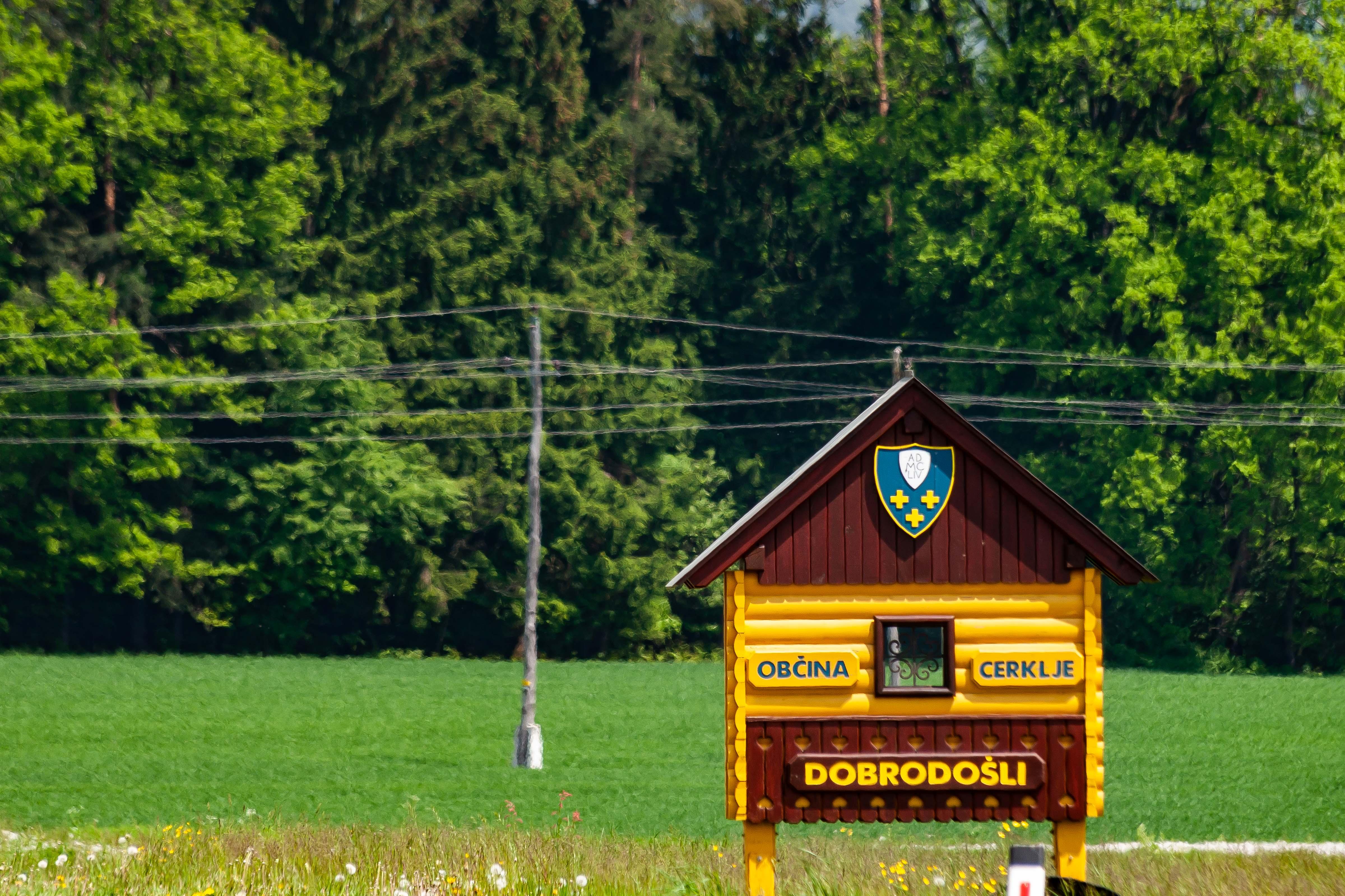 Slovenia, Cerklje Na Gorenjskem Prov, Dobrodosli Obcina Cerklje Na Gorenjskem, 2006, IMG 5991