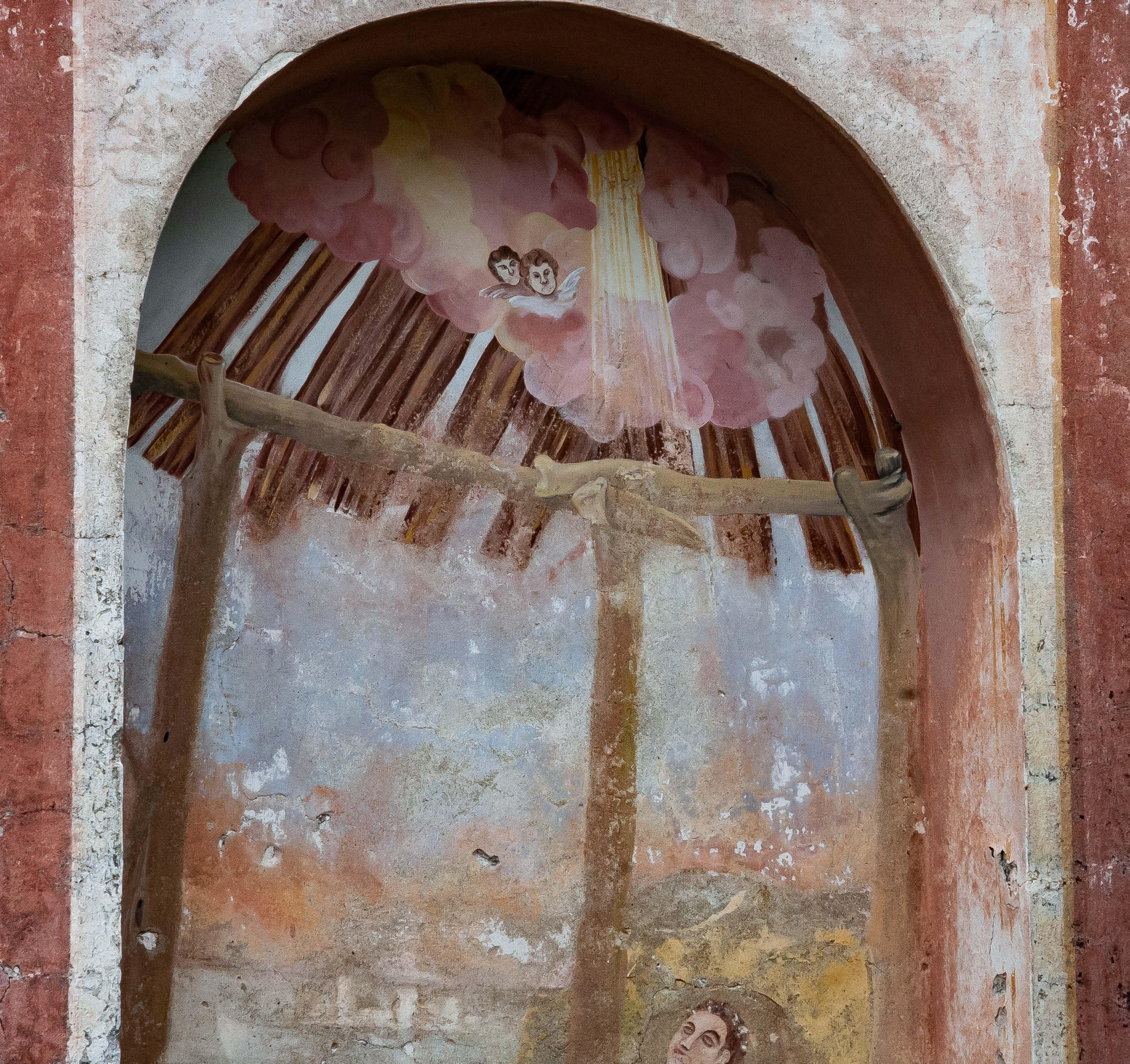 Slovenia, Ljubno Prov, Wall Painting, 2006, IMG 8322