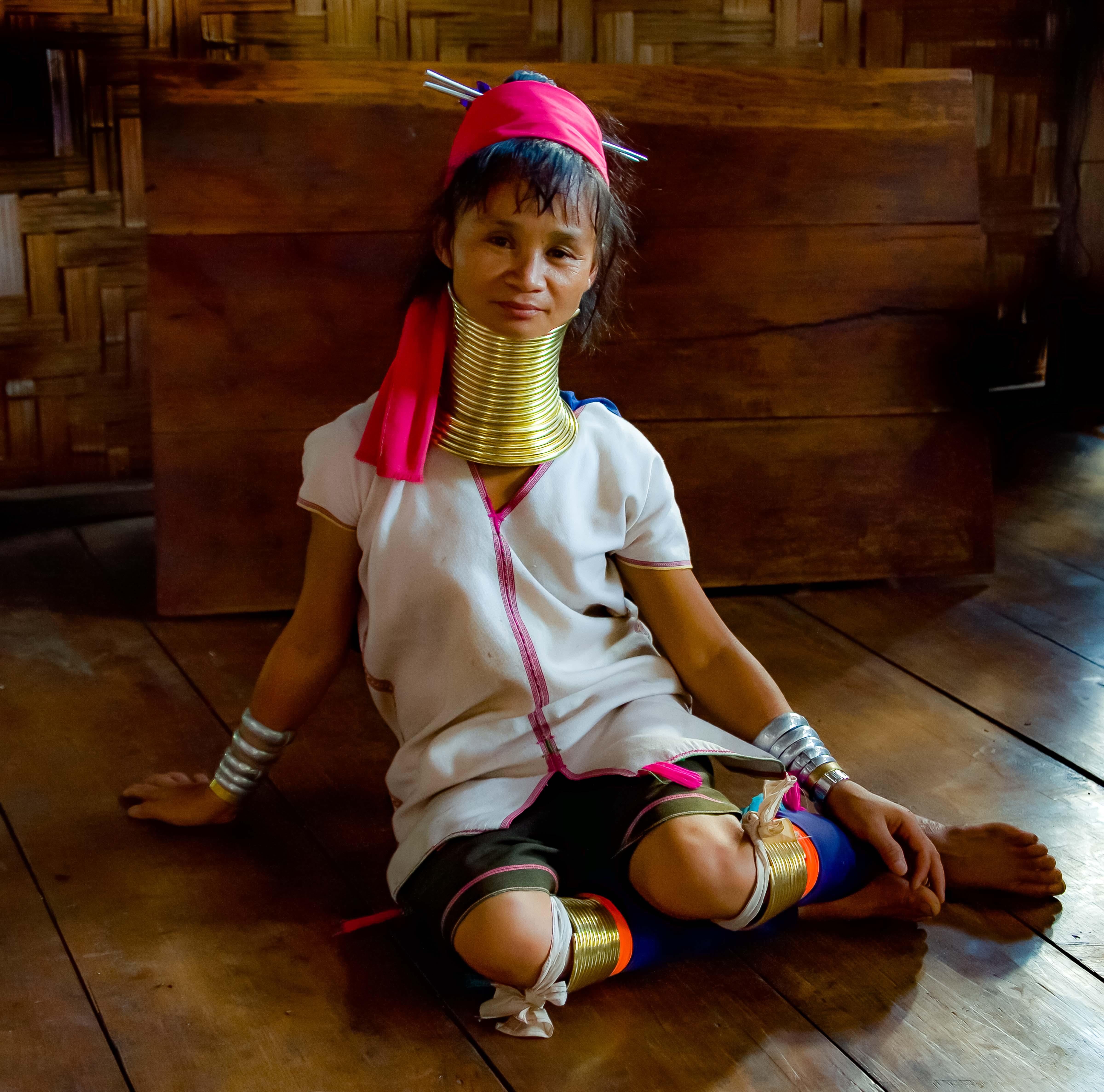 Thailand, Mae Hong Son Province, Kayan Woman, 2008, IMG_3613