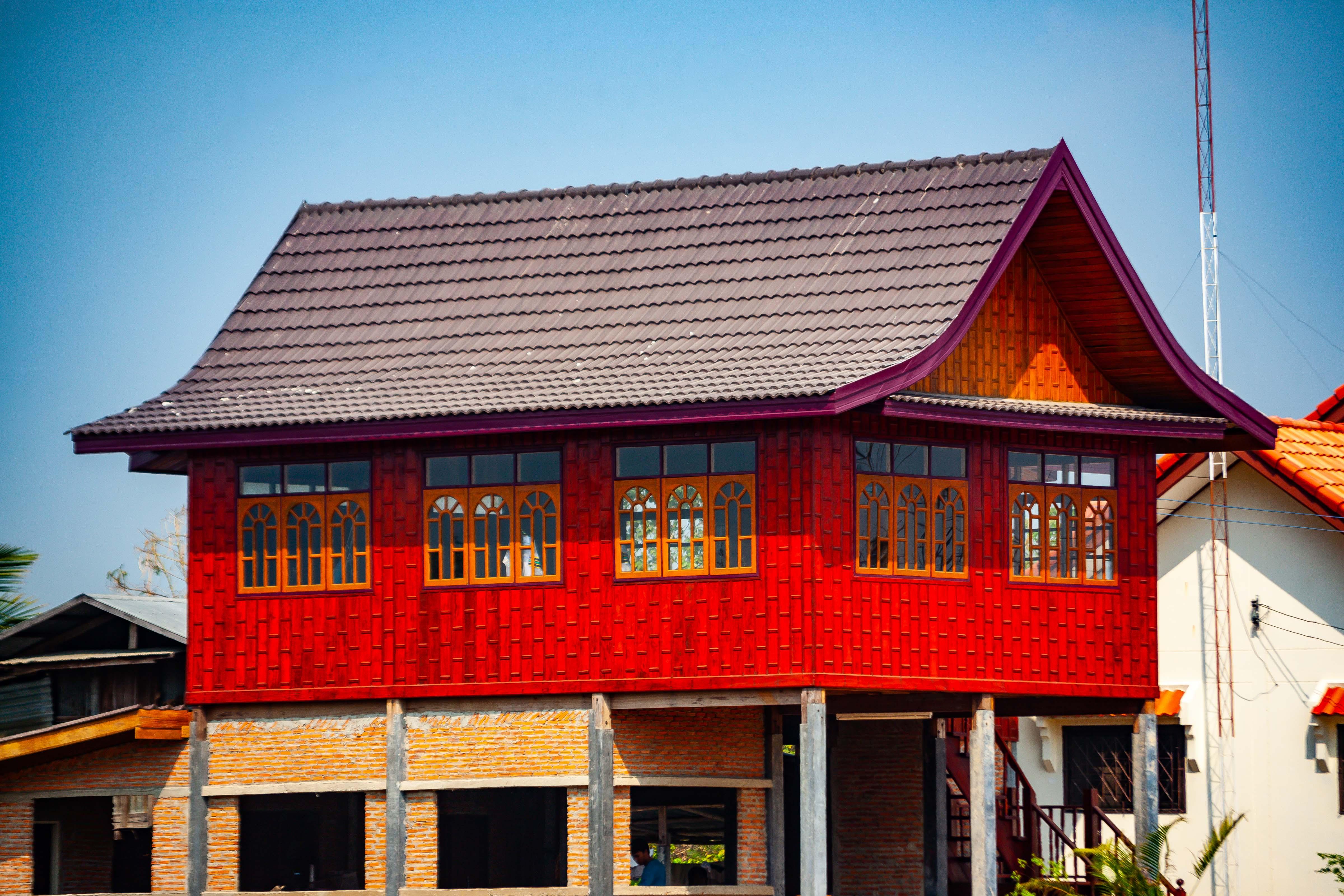 Thailand, Maha Sarakham Prov, House, 2008, IMG 0691