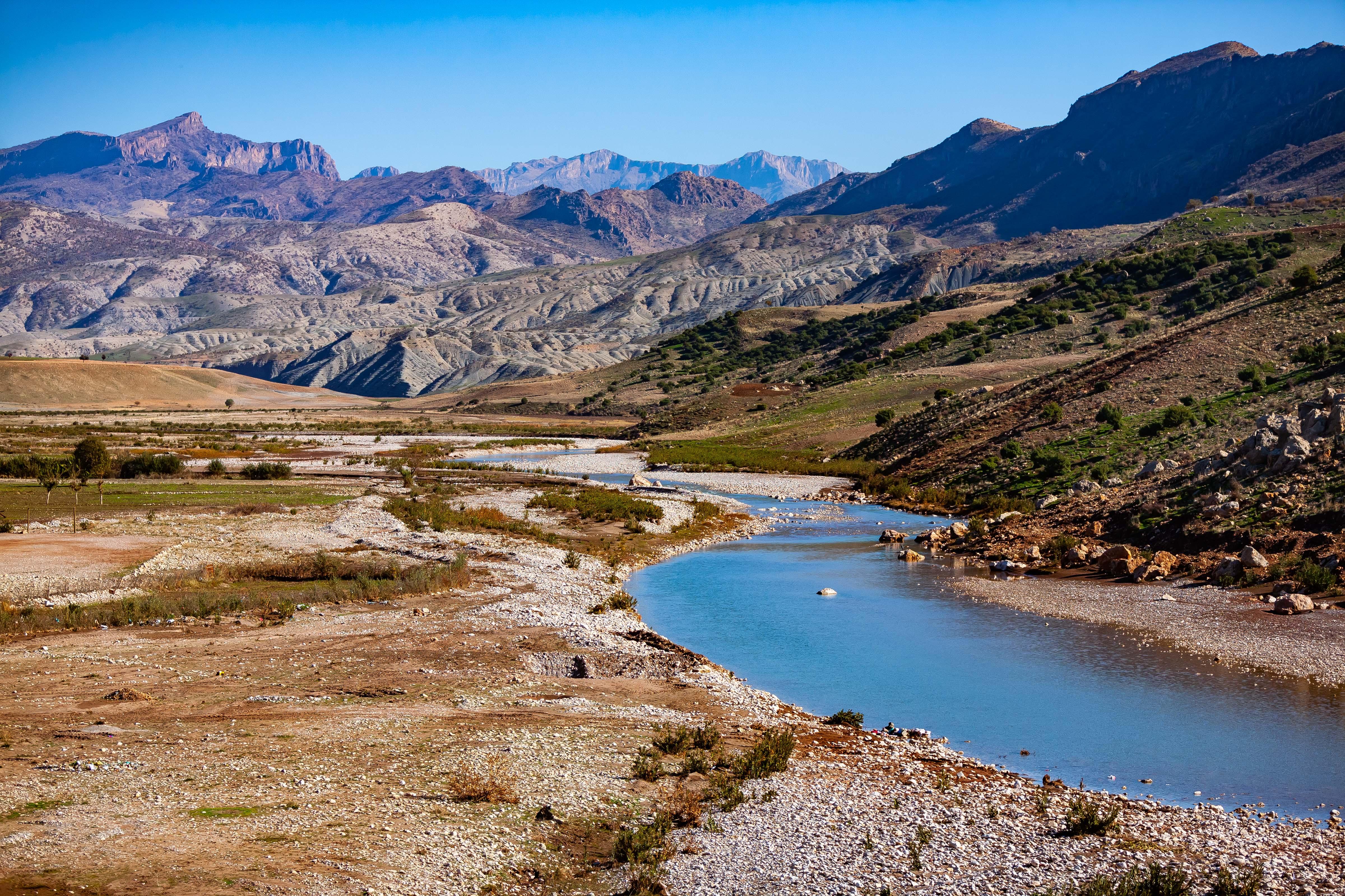 Turkey, Sirnak Prov, Landscape, 2009, IMG 1883