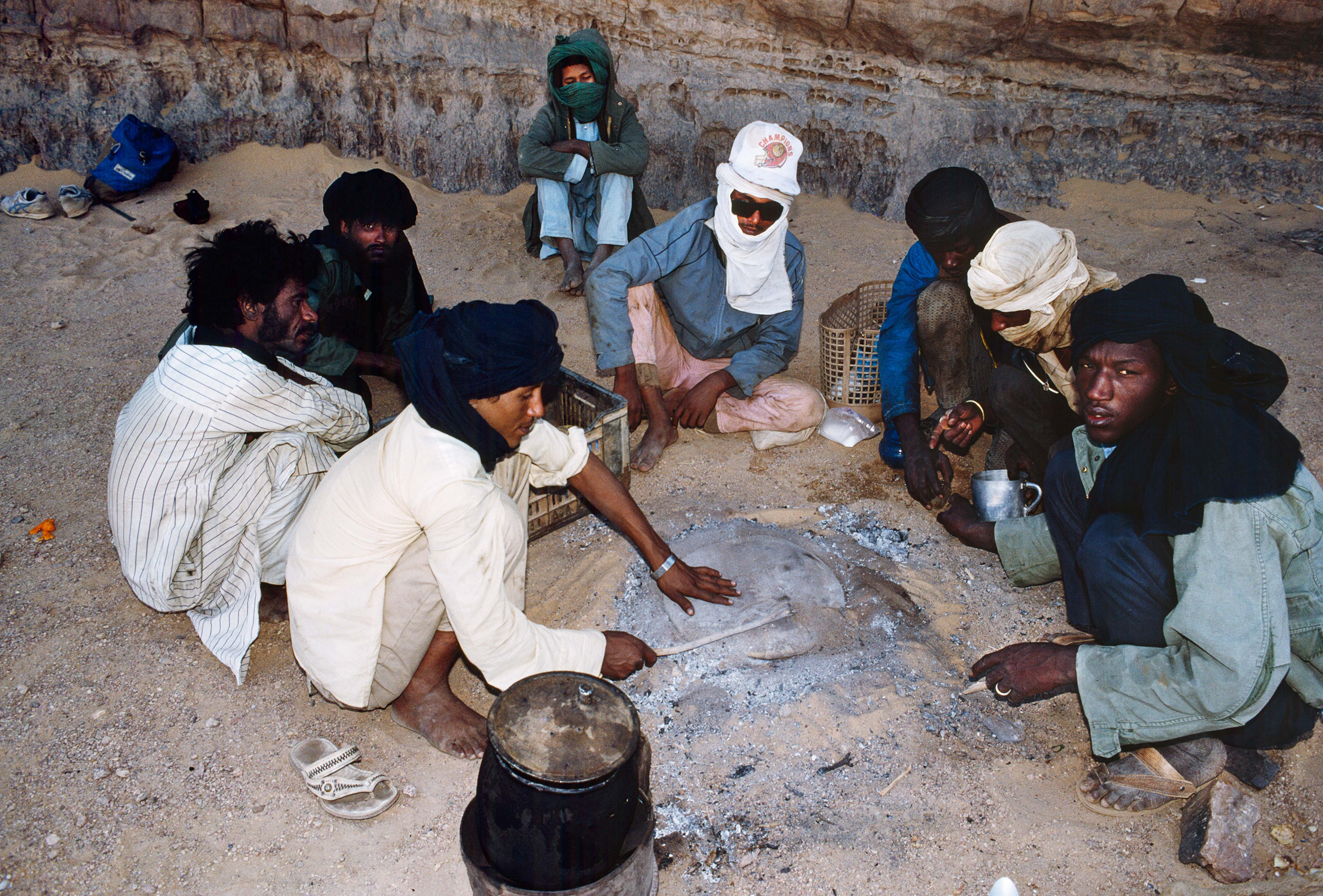 Cooking Bread in the Sand – One