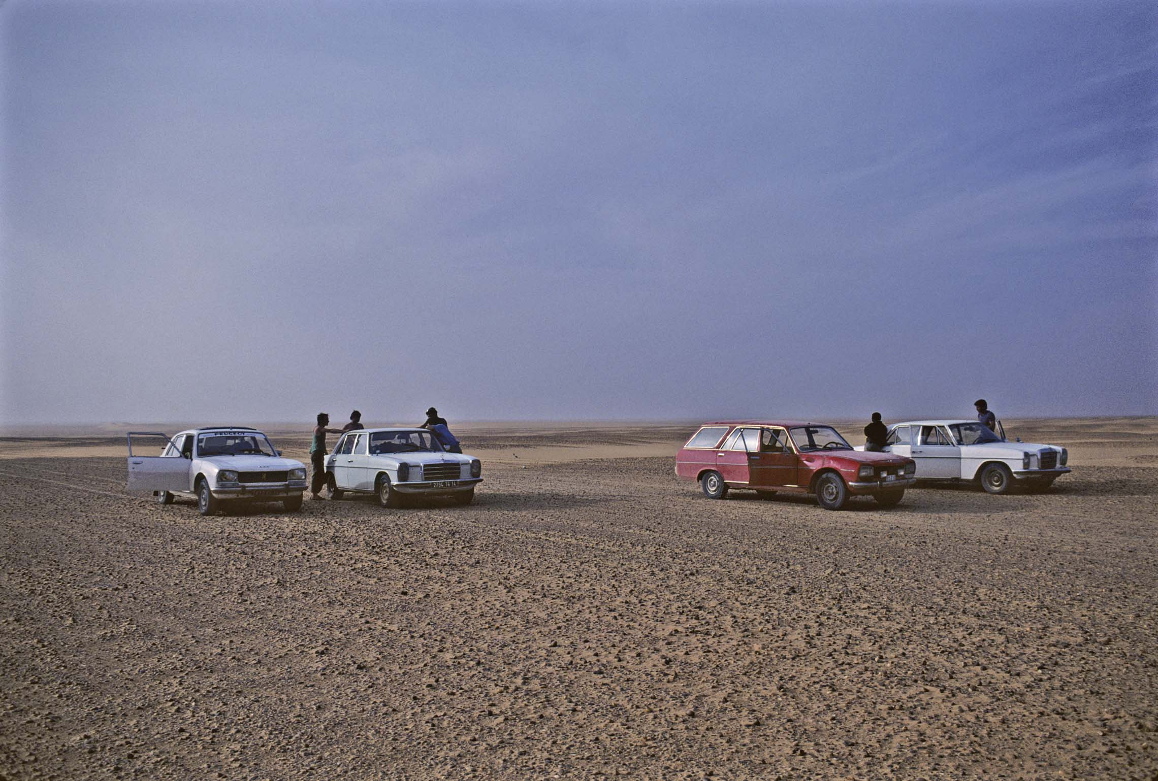 Cars Being Brought from Europe to Niger for Sale